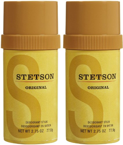 Whiff Sticks (Stetson Stick Deodorant, 2.75 Fluid Ounce, 2-pack)