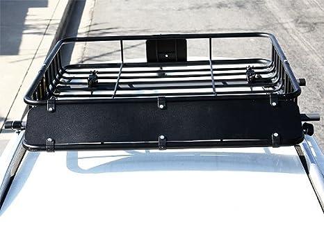 Universal Black Roof Rack Cargo Carrier roof rack Basket for Sedan SUV 43