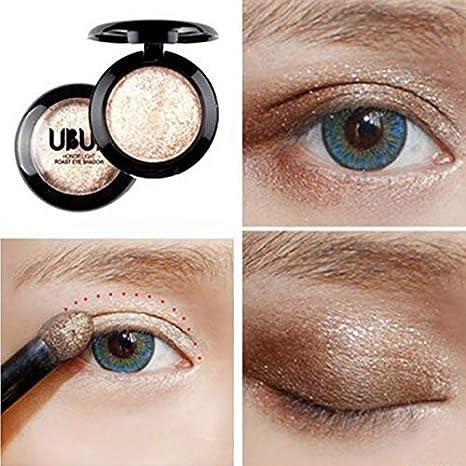 Sombras de ojos monocromáticas, brillantes, adecuadas para el ojo ...