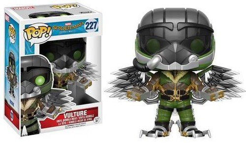 Funko - Vulture figura de vinilo, coleccion de POP, seria Spider-Man Homecoming (13312)