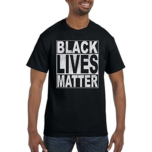Black Lives Matter Black T-shirt (Medium)