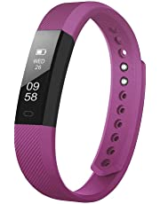 Fitness Tracker, LETSCOM Fitness Tracker Watch with Slim Touch Screen and Wristbands, Wearable Activity Tracker as Pedometer Sleep Monitor