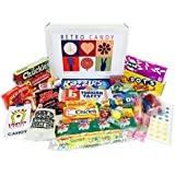 Retro Candy Gift Basket Box Care Package Assortment - Jr.