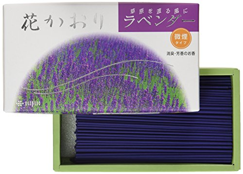 Incense Hana Kaori Lavender #622 Less Smoke Made in Japan by Kunjudo