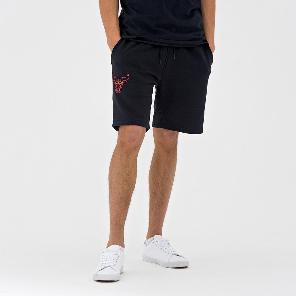 / Pantaloncini L/ínea Chicago Bulls A NEW ERA NBA Team App Pop Logo Short CHIBUL/  Unisex