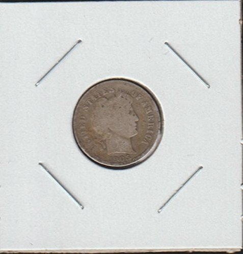 1905 Barber or Liberty Head (1892-1916) Dime Good