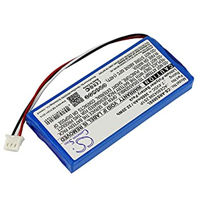 C & S 3000mAh ACE604396 2S1P Battery for Aaronia Spectran HF-Rev.3, Spectran HF-V4 Analyzer, Spectran NF Analyzer
