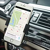 Car Mount,Patekfly Universal 360°Swivel CD Slot Car Mount Holder Cradle for iPhone 6/ 6 Plus 6S /6S Plus ,Samsung Galaxy S3 ,S4,S6,LG G3,Nexus 4/5,Motorola,Sony&GPS Devices And Other Smartphone