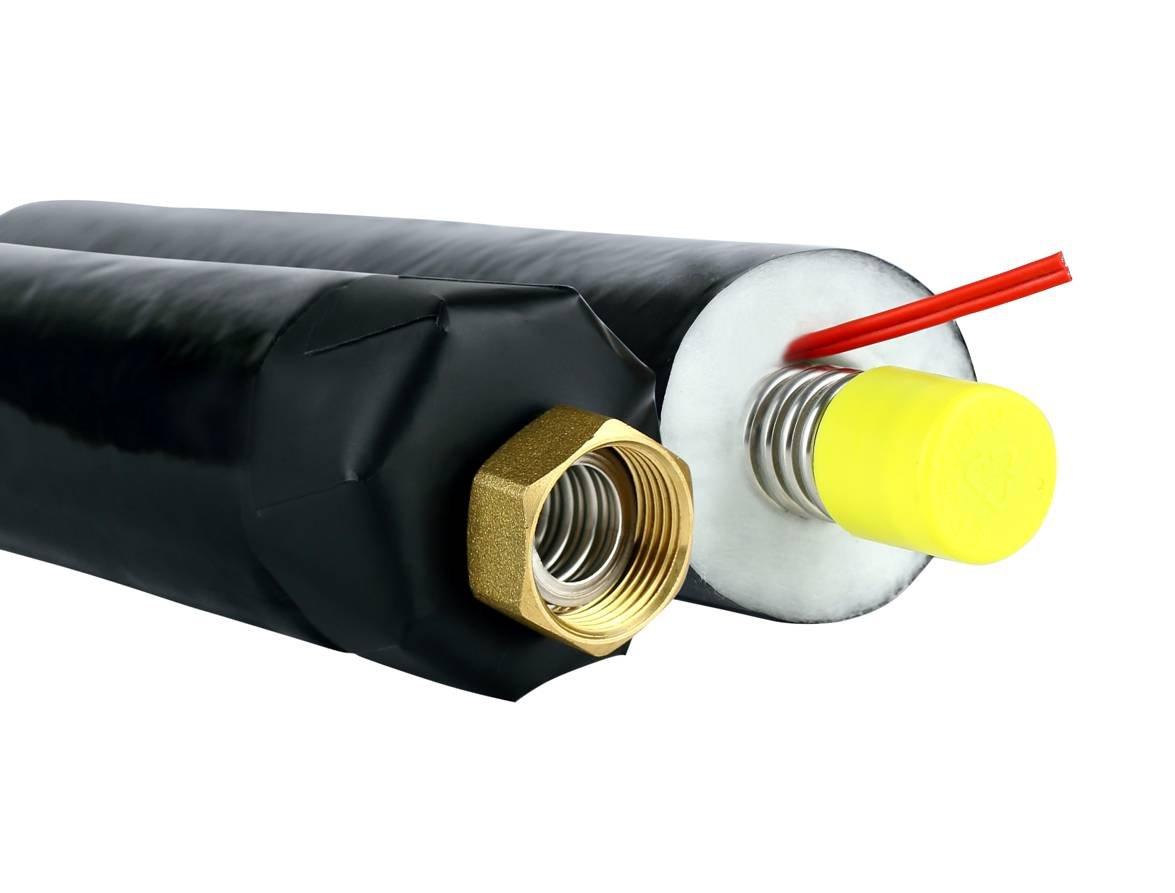 Wip Flex câble Twin V13DN20solaire Solar Tuyau double tube Tube Well acier inox