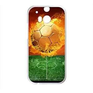 Fire Ball Pattern Custom Protective Hard Phone Cae For HTC One M8