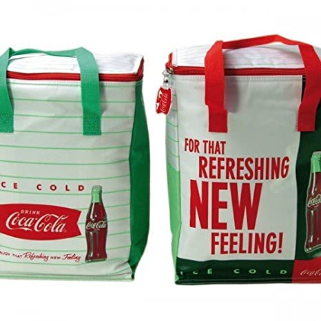 Bolsa nevera 26 L. Coca Cola Retro: Amazon.es: Jardín