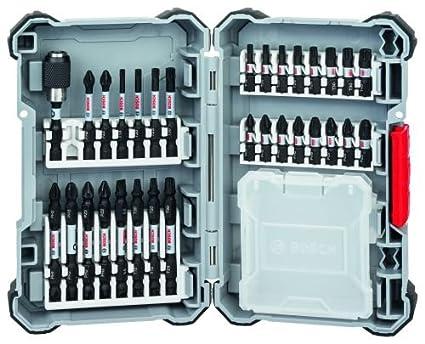 BOSCH 2608522366 - Set de puntas de atornillar Impact con caja vacia: 31 uds