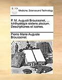 P M Augusti Broussonet, Ichthyologia Sistens Piscium Descriptiones et Icones, Pierre Marie Auguste Broussonet, 1140988905