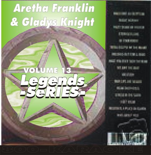 Aretha Frankin & Gladys Knight Karaoke CD+G Legends #13 15 Song Disc