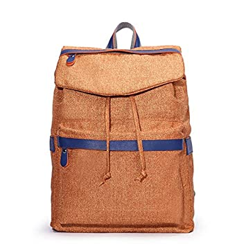 La señora coreana mochila bandolera, bolso de lona Moda Academia de ocio Escuela viento mochilas escolares, naranja: Amazon.es: Equipaje