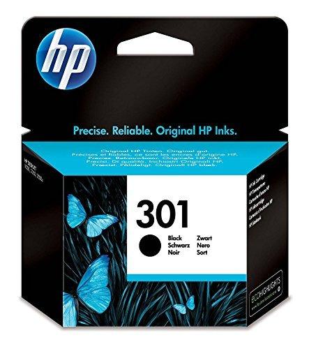 HP CH561EE 301 Original Ink Cartridge, Black, Pack of 1
