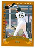 Jose Bautista baseball card (Pirates Toronto Blue Jays All Star) 2002 Topps Traded #T180 Rookie Card
