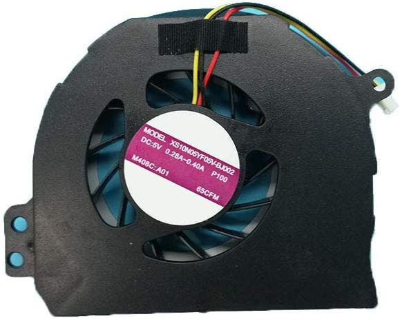 GAOCHENG Laptop CPU Cooling Fan for DELL Inspiron 14R N4110 N4120 M411R M4110 V3450 XS10N05YF05V-BJ002 P100 DC5V 0.28A-0.4A OEM