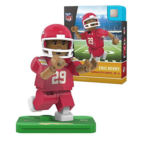 NFL Kansas City Chiefs Gen4 Limited Edition Eric Berry Mini Figure, Small, White - Kansas City Chiefs Glove