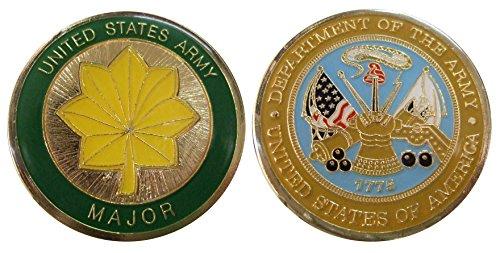 Army Major O4 Challenge Coin ()