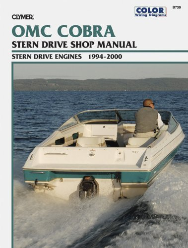 OMC Cobra SX Stern Drive Engines 1994-2000 (Clymer Color Wiring ... johnson outboard starter solenoid wiring diagram Amazon.com