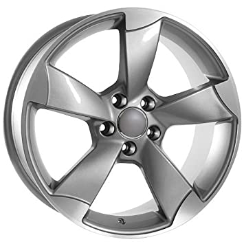 Silver Replica Rims Automotive