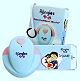 Bjingles Heartbeat Baby Monitor -Listen to the sounds your unborn makes-Perfect Pregnancy Gift- Includes a great Bjingles Pregnancy App