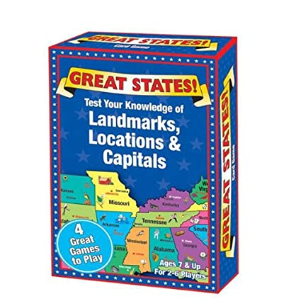 Great States Card Game on thanksgiving test, history test, us citizenship test, 13 colonies test, maps test,
