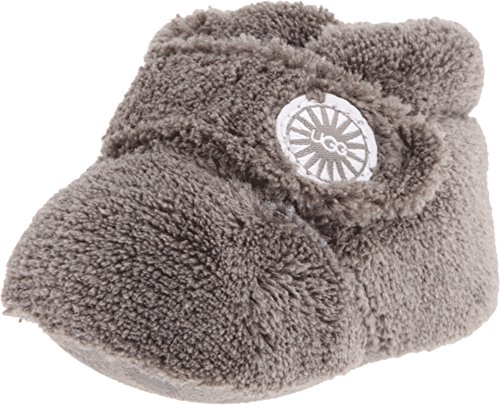 UGG Unisex Bixbee Bootie (Infant/Toddler), Charcoal, 2/3 (6-12 Months) M (Ugg Footwear Cozy)