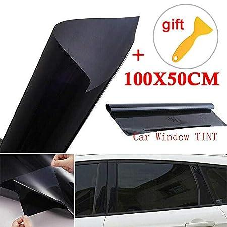 SELUXU Film de Teinte adh/ésif de la fen/être de la Voiture Protection UV 5/% Film teintant la fen/être Auto 100 50CM