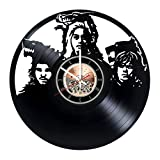 Game of Thrones Vinyl Record Wall Clock – Bedroom or home wall decor – Gift ideas for friends, teens, boys and girls – Epic Drama Unique Art Design Review