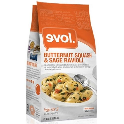 Butternut Squash Sage (Evol Butternut Squash Sage Multi Serve Meal, 18 Ounce -- 6 per case.)
