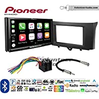 Volunteer Audio Pioneer AVH-W4400NEX Double Din Radio Install Kit with Wireless Apple CarPlay, Android Auto, Bluetooth Fits 2011-2014 Smart Fortwo