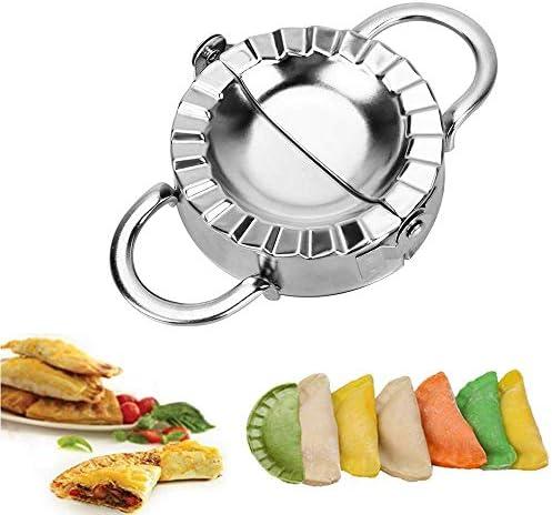 StainlessSteel Wraper Dough Presser Cutter Dumpling Pie Mould Makers Pastry T Pn