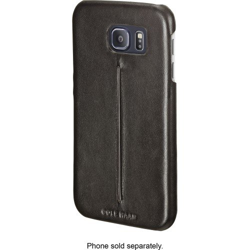 cole-haan-leather-case-for-samsung-galaxy-s6-chrm71014-dark-roast-black