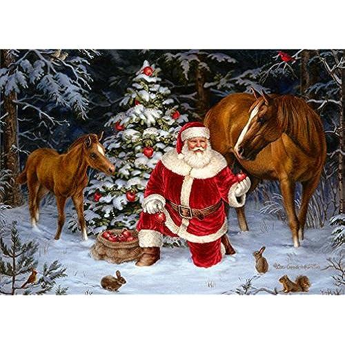 horses christmas cards amazon com