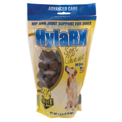 HylaRX Soft Chews Hip and Joint Support for Dogs - 60 Count