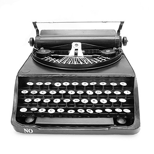NAVAdeal Vintage Typewriter Prop Handcraft Models Ornament for Photograph Studio/Wedding/Cafe Coffee Shop/Bookstore/Home/Theme Party Decoration