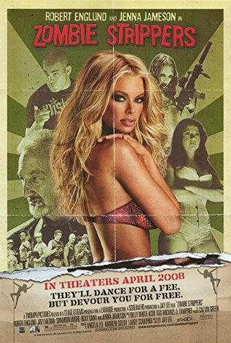 Zombie Strippers Poster 27x40 Robert Englund Jenna Jameson Roxy (Pop Art Zombie)
