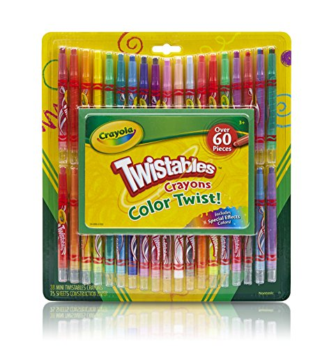 Crayola Twistables Crayons Sheets Construction product image