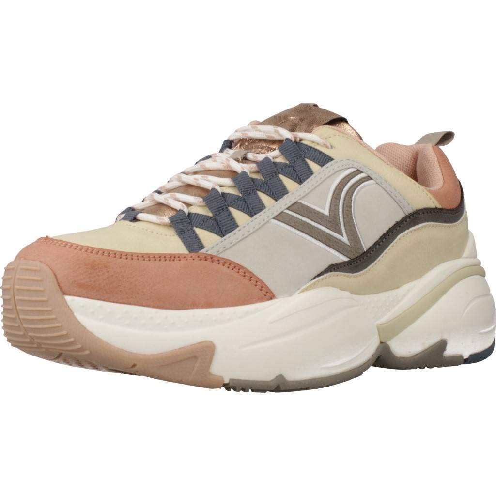 VICTORIA Zapatos Mujer Zapatillas Bajas 147103 Nude