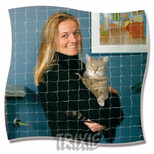 Trixie 44303 Schutznetz, 2 × 1,5 m, transparent