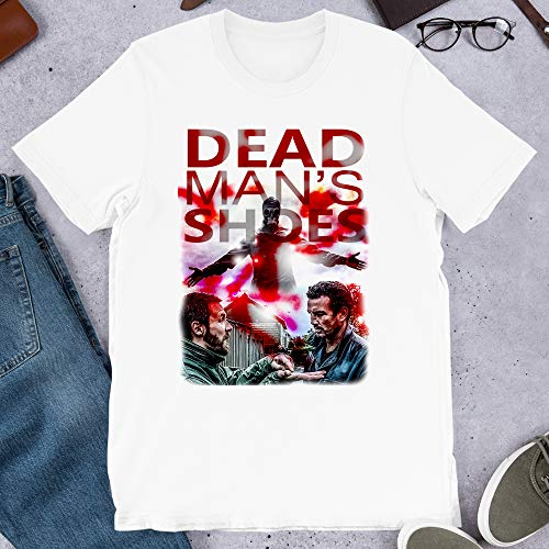 Dead Man's Shoes Your Film British Cult Movie Vintage Graphics Gift for Men Women Girls Unisex T-Shirt Sweatshirt Hoodie (White-L)