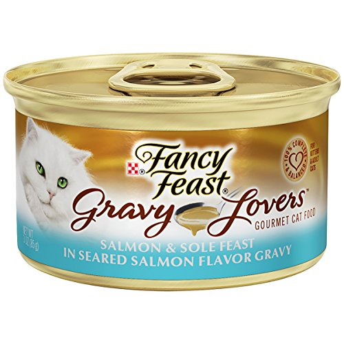 Purina Fancy Feast Salmon and Sole Feast In Seared Salmon Fl