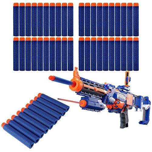lot-100-pcs-72cm-foam-darts-for-nerf-n-strike-elite-series-blasters-toy-gun-blue