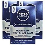Nivea Men Protect and Care Moisturizing After Shave Balm, 3.3 Ounce (Pack of 3)