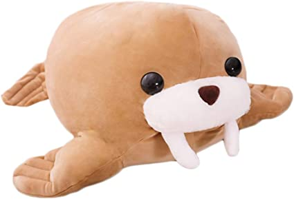 sunyou Plush Cute Seal Pillow Stuffed Cotton Soft Animal Toy Gift for Kids//Family//Friends 23.6 inch//60cm