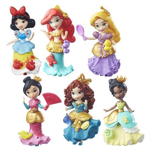 Set of 6: Disney Princess Little Kingdom Classic Dolls - Ari