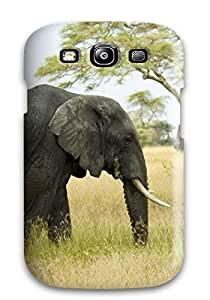Grearie Perfect Tpu Case For Galaxy S3/ Anti-scratch Protector Case (elephant For Mac )