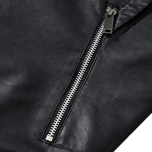 ライダースジャケット メンズ レザー バイクジャケット ジャンパー 革 皮 ジャン フライトジャケット オールシーズン ミリタリー 斜めジップ 黒